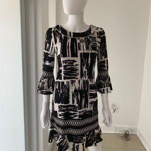 Black multi dress